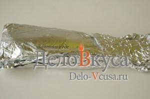 Скумбрия в фольге в духовке: Завернуть рыбу в фольгу