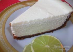 Творожный пирог с лаймом