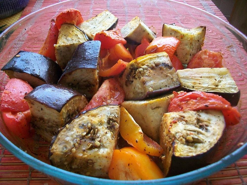 Овощи запеченные в духовке рецепты пошагово с