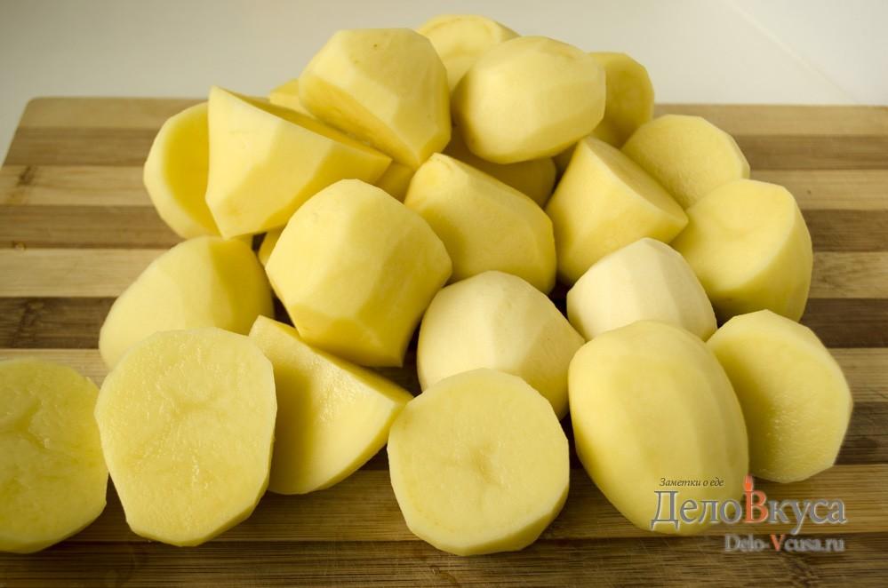 Как правильно варить картошку на вареники