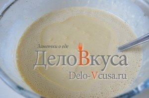 Блины на молоке: Добавляем растительное масло