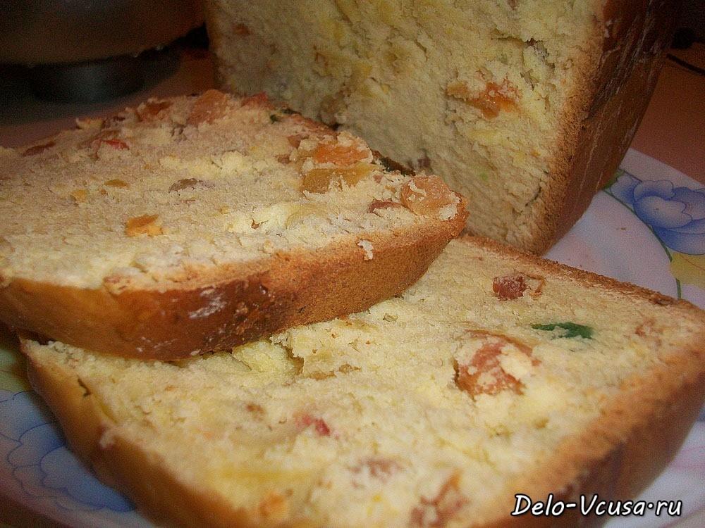 Сладкие кексы в хлебопечке