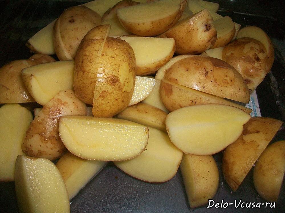 Как правильно сделать картошку по-французски