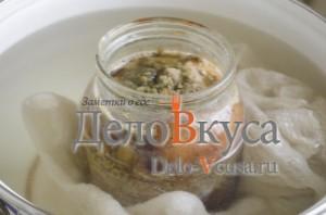 Сало на водяной бане в банке: Готовое блюдо остудить