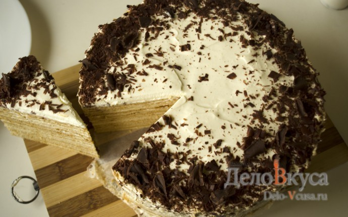 Торт медовик со сметанным кремом