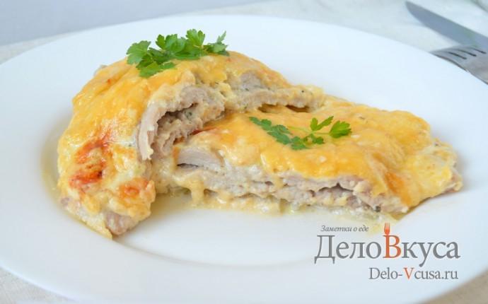Мясо по французски с курицей пошаговый рецепт с