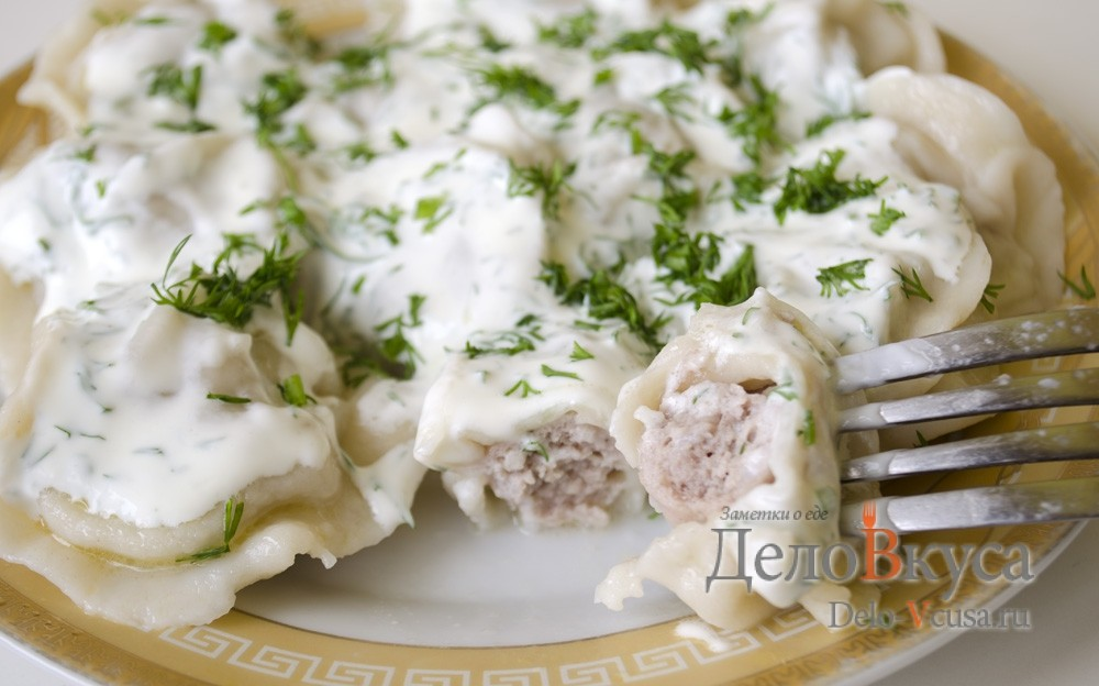 Рецепт домашних пельменей с фаршем с фото пошагово