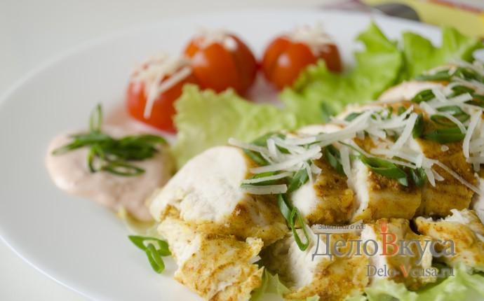 Курица тандури (Tandoori chicken)