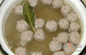 Суп с фрикадельками: Готовим бульон на фрикадельках