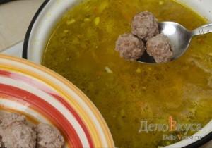 Суп с фрикадельками: Возвращаем в суп фрикадельки