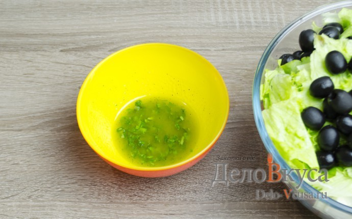 Соус к греческому салату классический
