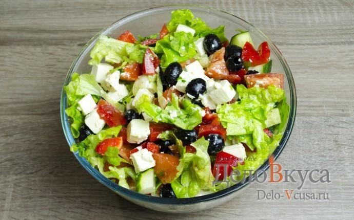 Салат греческий классический рецепт