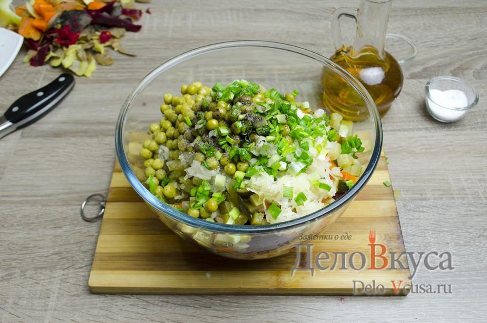 Ингредиенты к салату винегрет