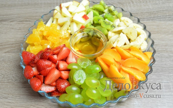 Фруктовый салаты рецепты