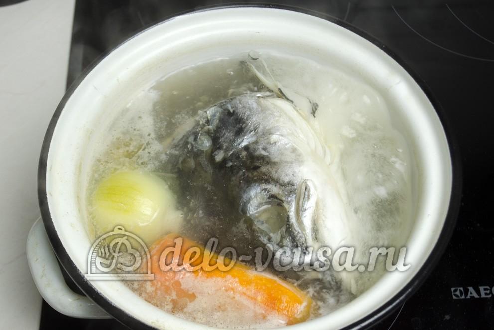 Уха из головы лосося рецепт с пошагово