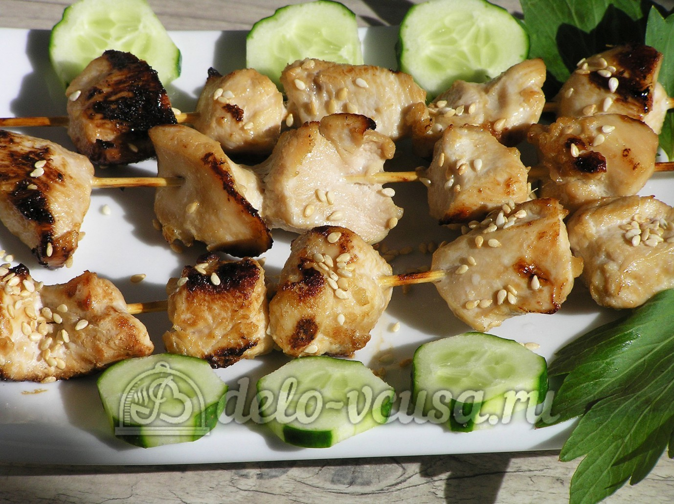 Мясо в духовке на шпажках рецепты пошагово