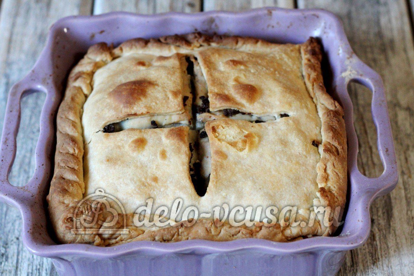 Пироги с ливером рецепт в духовке пошагово