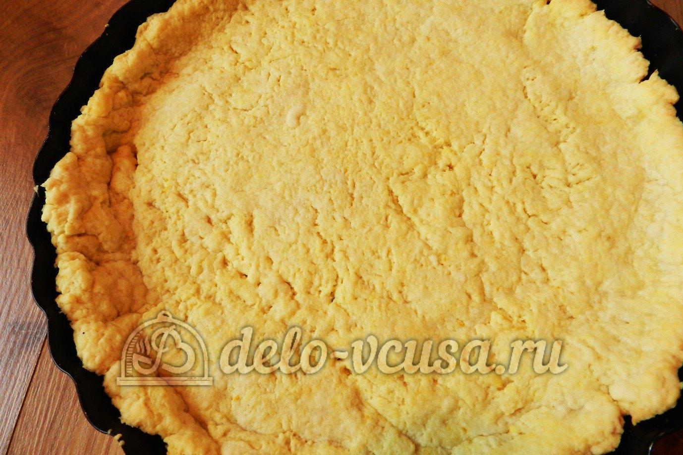 Песочный пирог с творогом рецепт пошагово для мультиварки