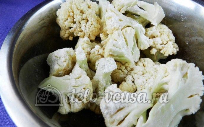 Кляр для цветной капусты с фото пошагово