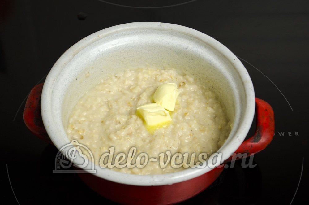 Каша овсяная рецепт на молоке с пошагово для