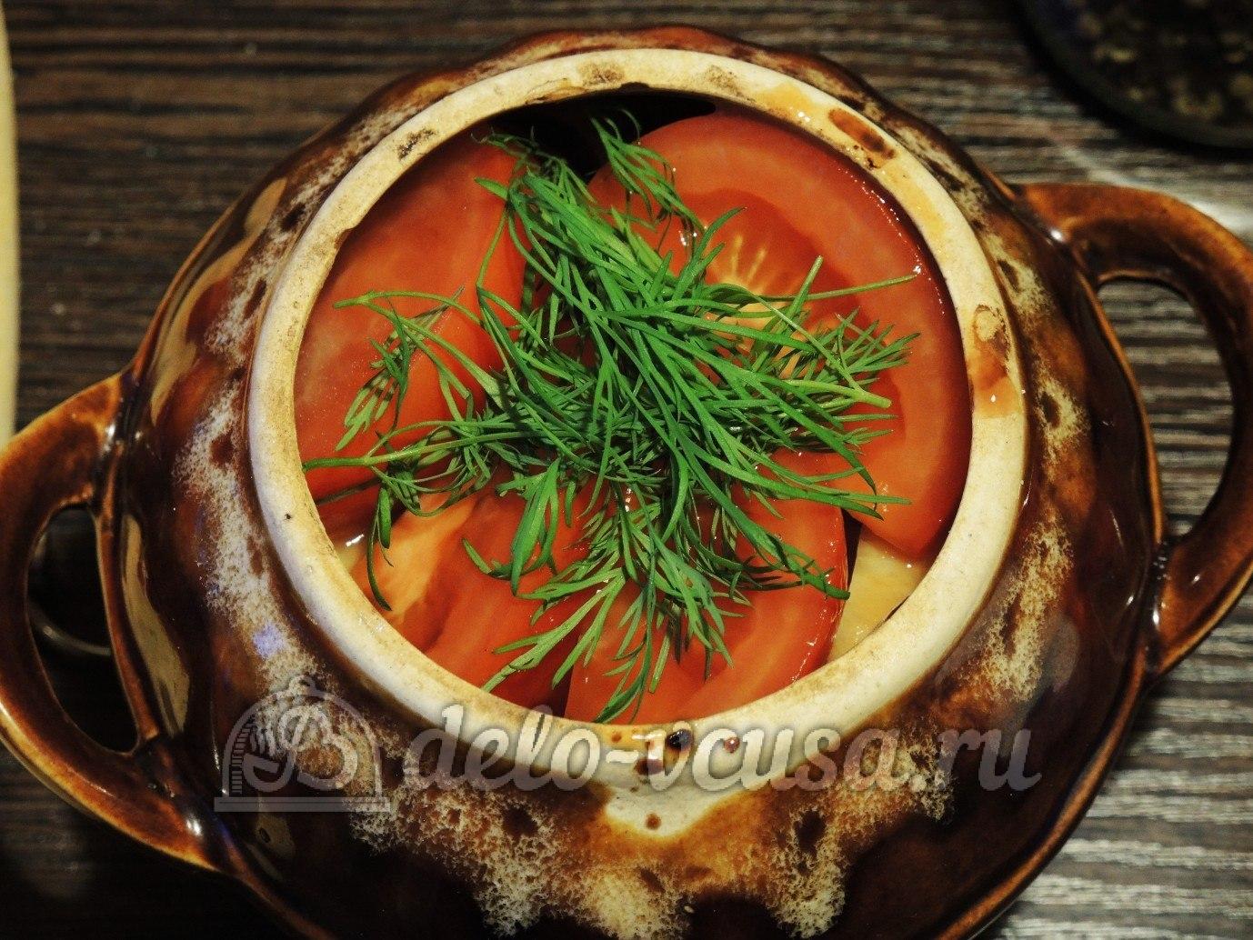 Чанахи из говядины в горшочках рецепт с фото