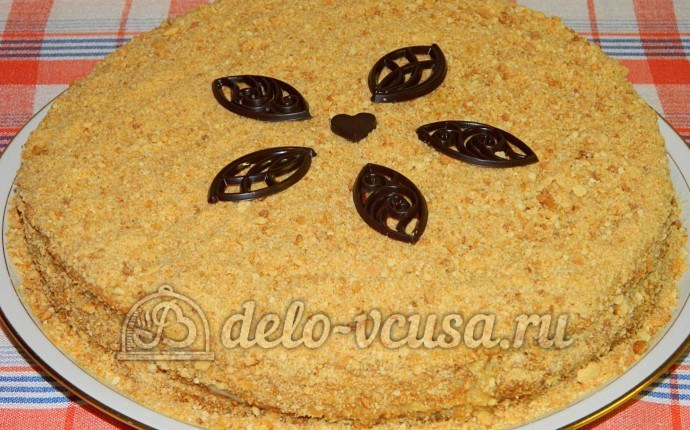 Торт медовик заварной рецепт с фото пошагово