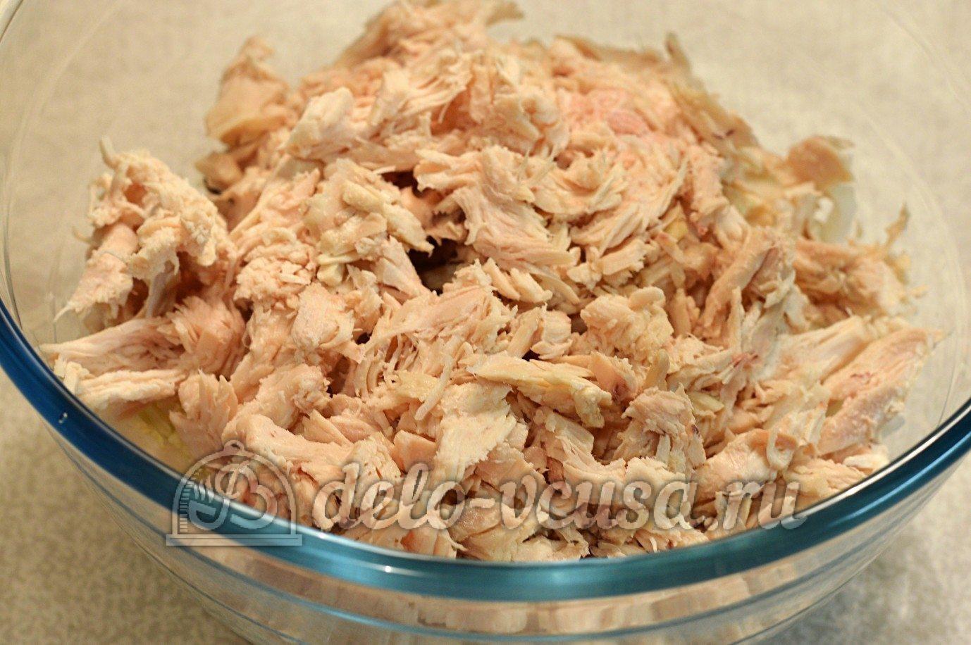 Салаты с блинчиками пошаговый фото рецепт