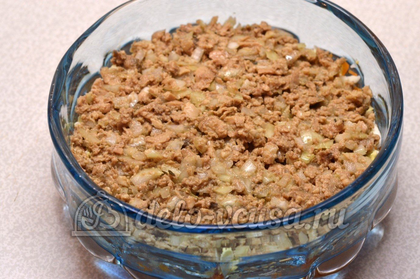 Салат из говяжьей печени рецепт пошагово
