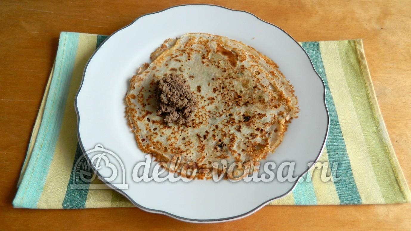 Блины из печени рецепт с пошаговым фото