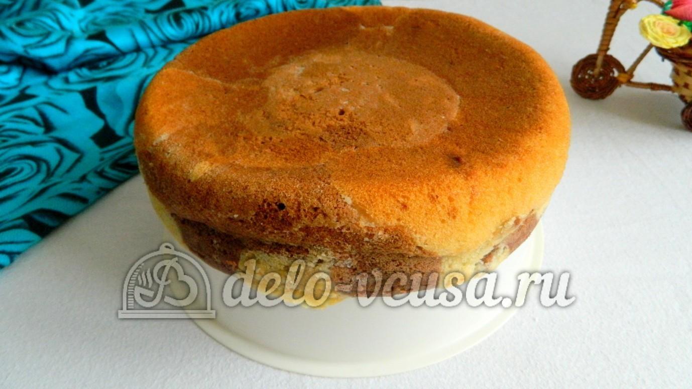Мраморный кекс в мультиварке рецепт с фото