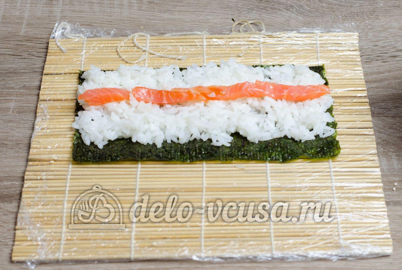 Суши торт рецепт пошагово в домашних условиях
