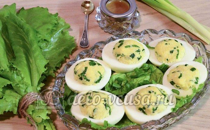 Вкусные рецепты яйца фаршированные