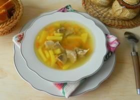 Гороховый суп со свининой