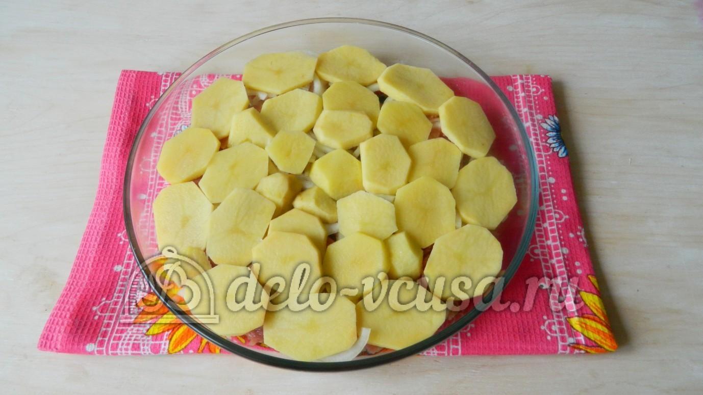 Картошка мясо кабачок в духовке рецепт с пошагово в