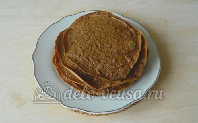 Печеночный торт пп рецепт с фото пошагово