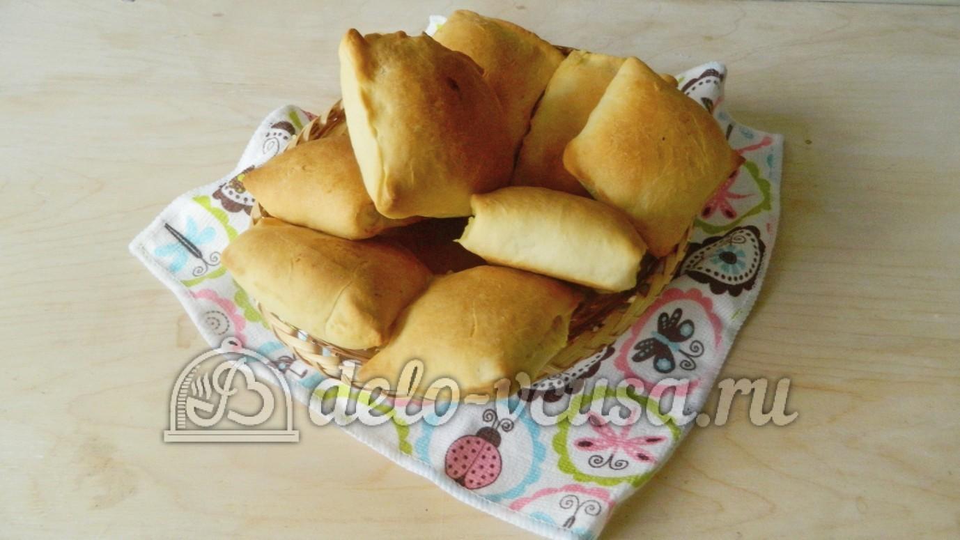 Пирожки с картошкой рецепты пошаговые с в духовке