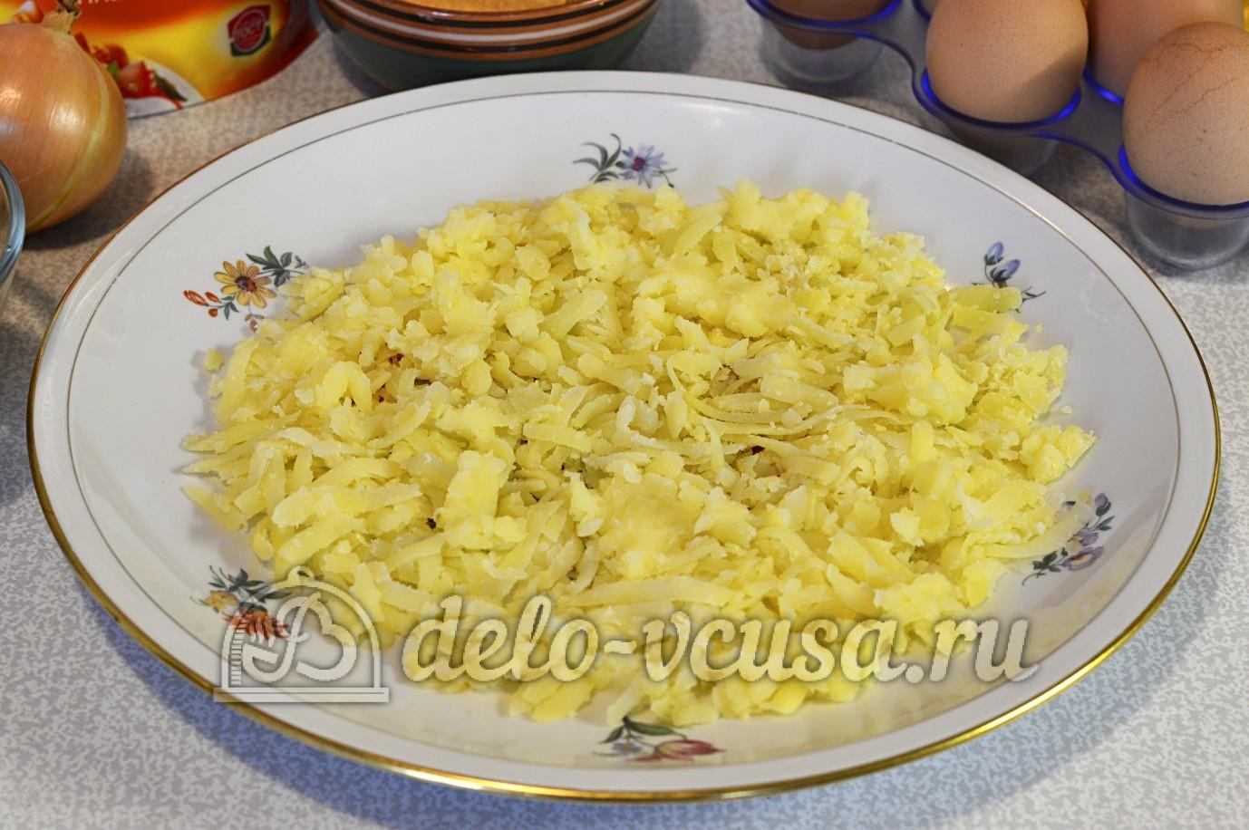 Салат подсолнух рецепт с картофелем