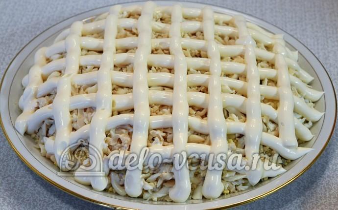 Рецепт подсолнуха салата с печенью