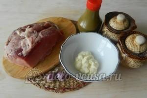 Свинина на сковороде рецепты с майонезом пошагово с