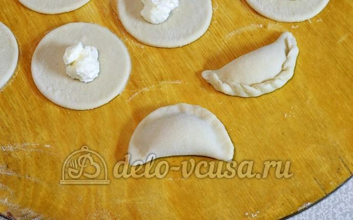Рецепты вареников с творогом пошагово в