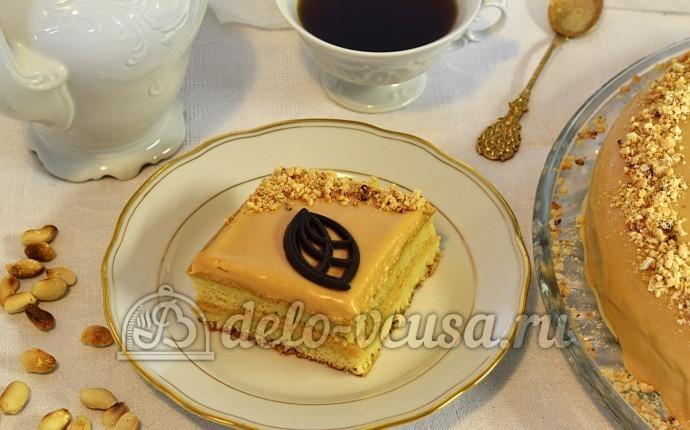 Бисквитный торт рецепт с масляным кремом с фото