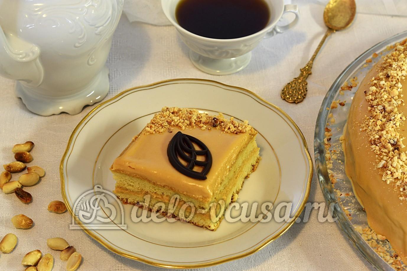 Торт бисквитный с масляным кремом рецепт в домашних условиях