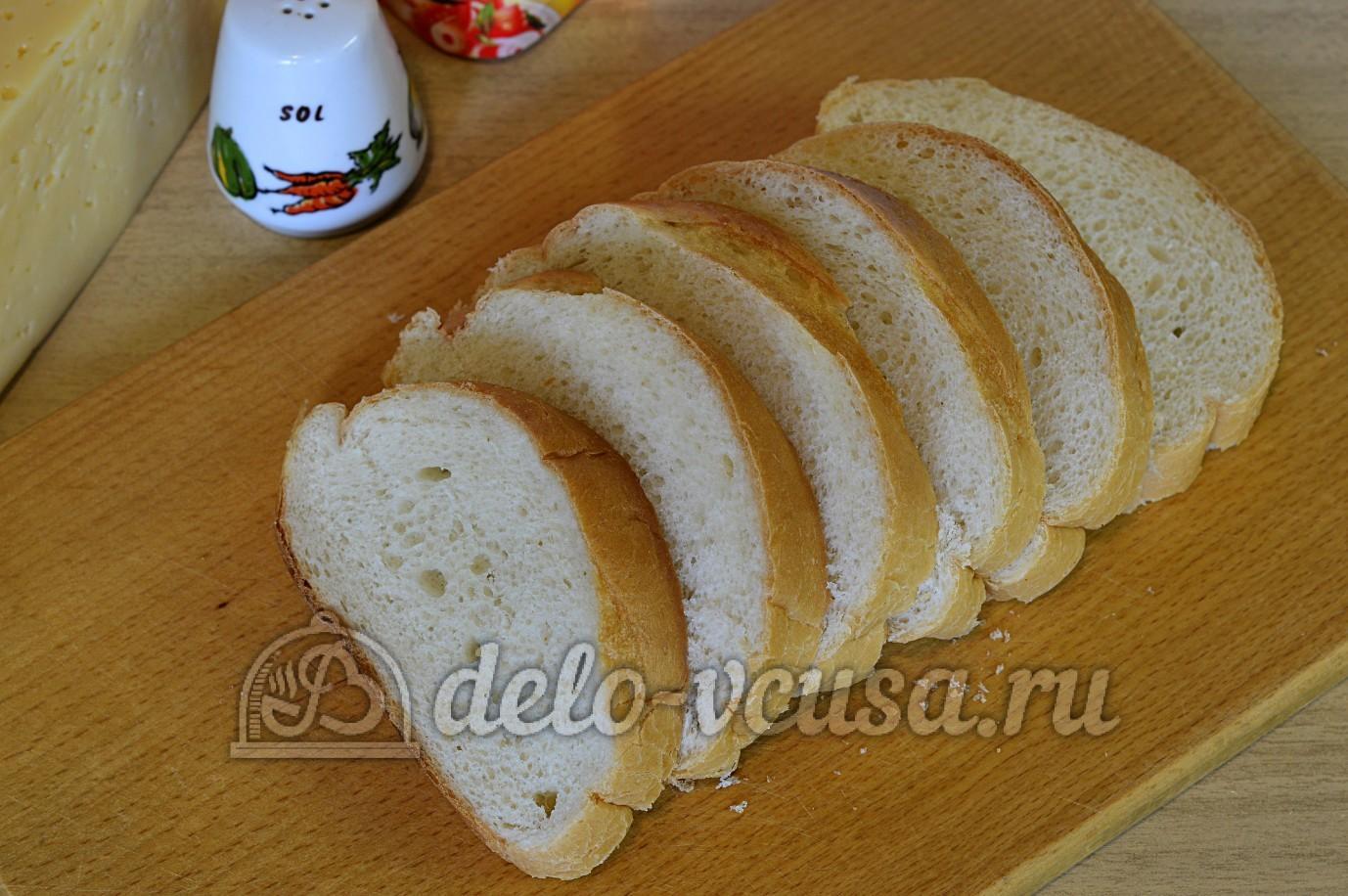 Белые сладкие гренки с яйцом и молоком - рецепт, фото 100