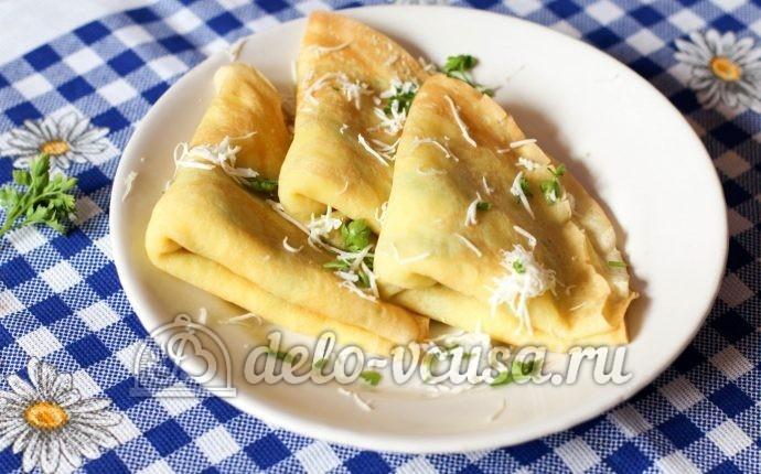 картошка с ветчиной и сыром запеченная в духовке с