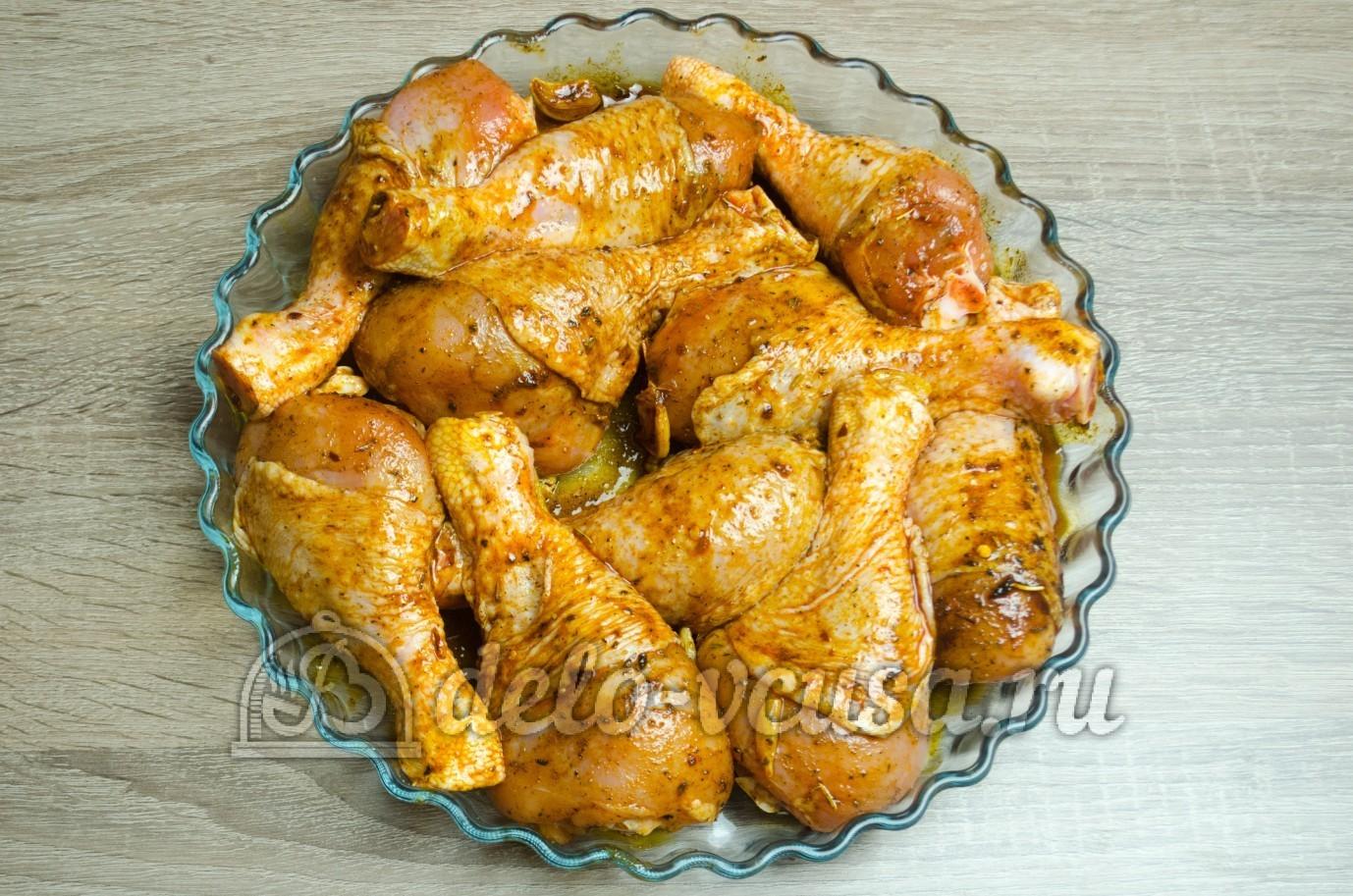 Как в духовке сделать ножки курицы
