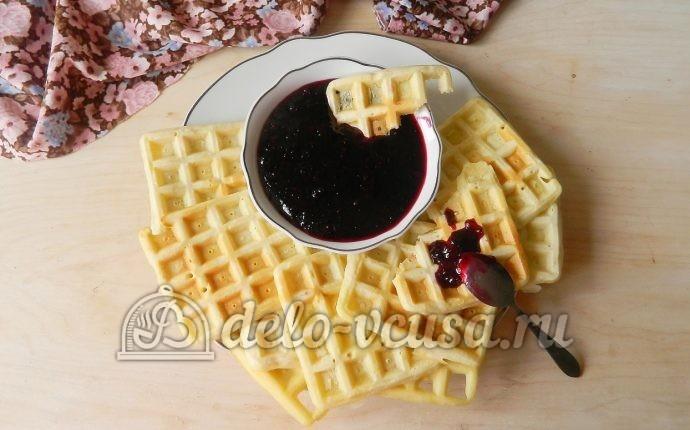 Вафли в вафельнице рецепт пошагово мягкие с маргарином