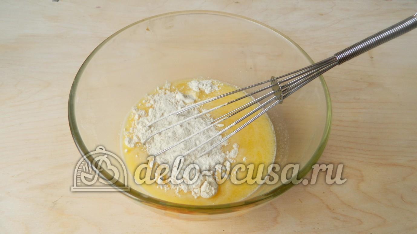 Тесто на вафли пошагово фото