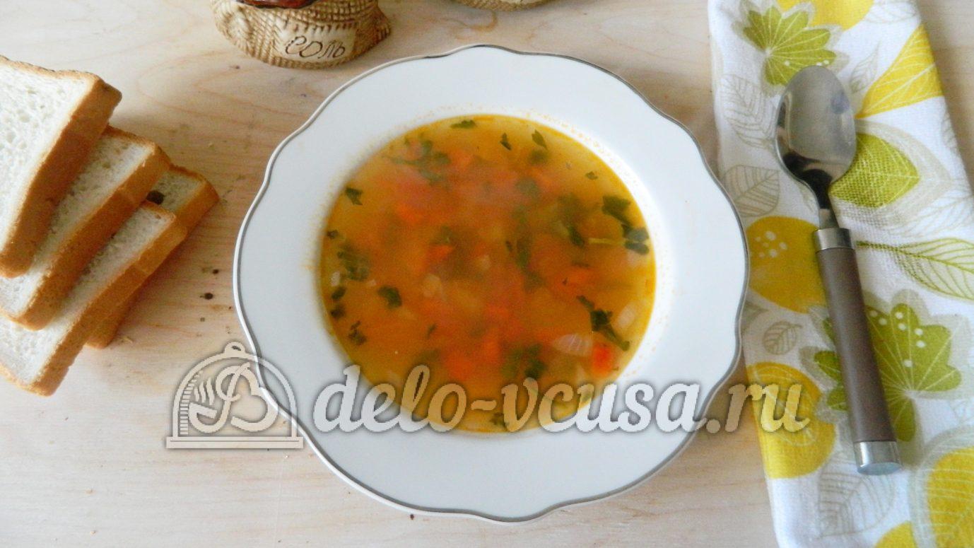 Рисовый суп пошагово в