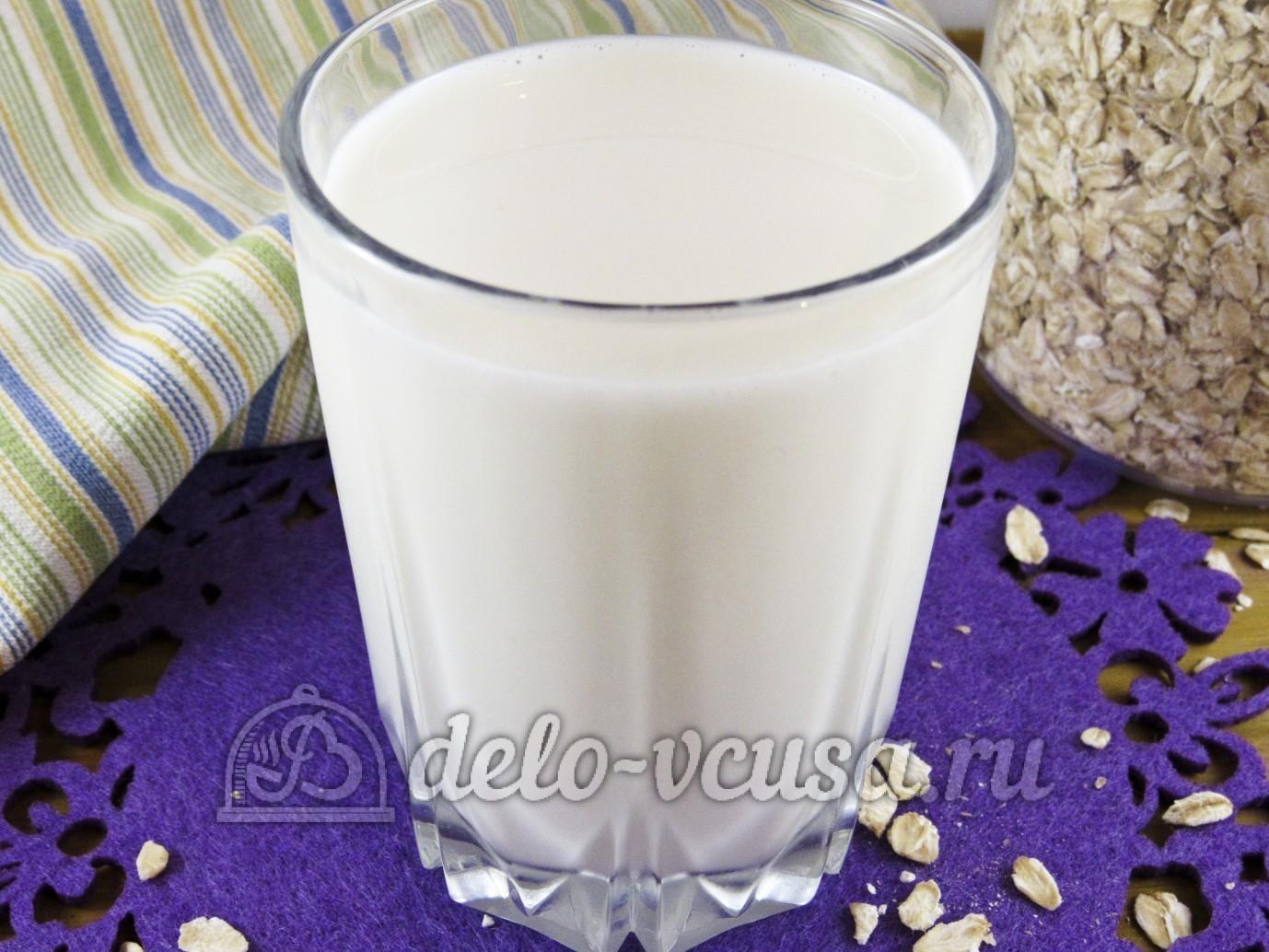 Овсяное молоко: рецепт приготовления 94
