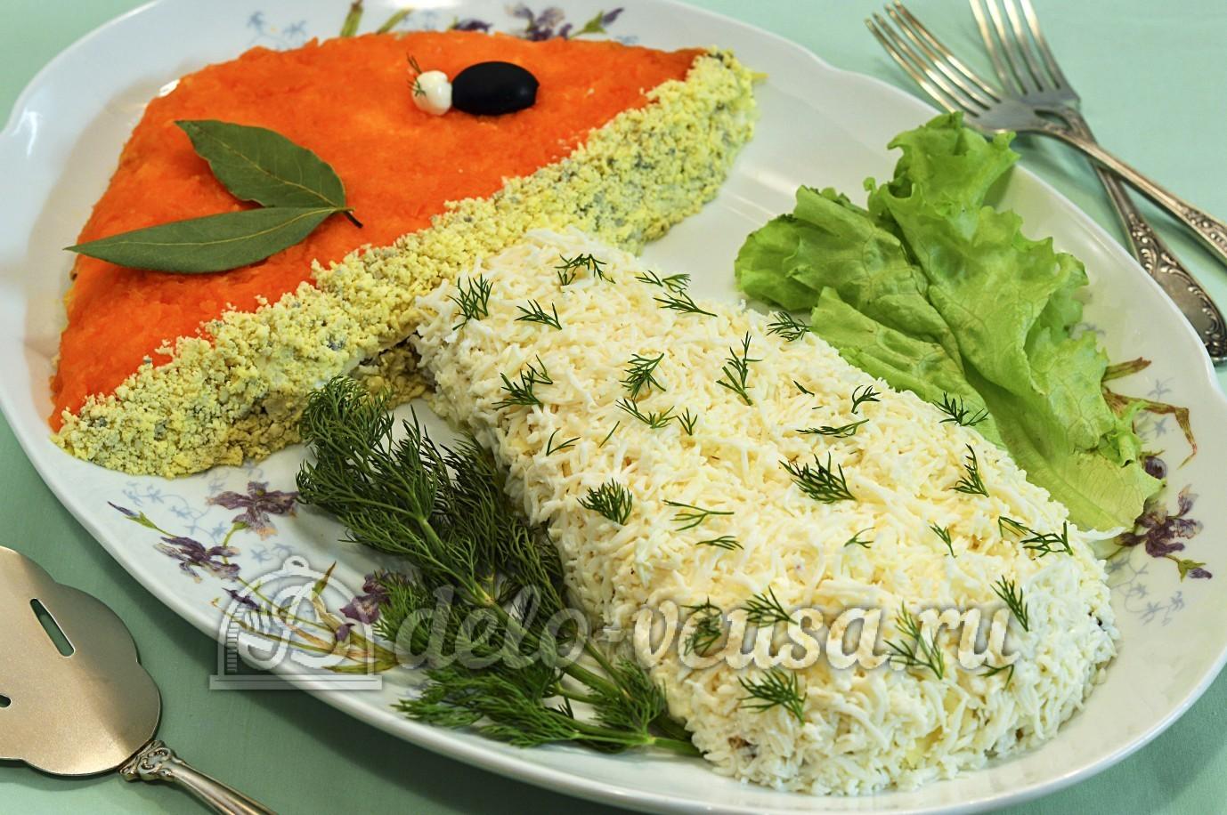 Новенькие салаты рецепт с